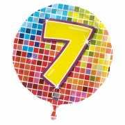 Helium ballon 7 jaar