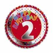 2e verjaardag helium ballon