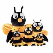 Bijen knuffel 18 cm