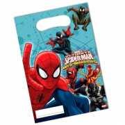 Kinderverjaardag Spiderman feestzakjes