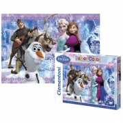 Frozen puzzel disney film figuren