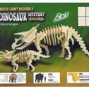 Dino bouwpakket van hout