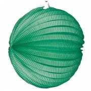 Groen gekleurde feest lampionnen