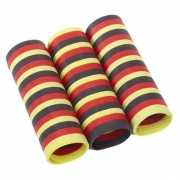 Zwart rood geel serpentine rol
