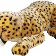 Pluche liggende cheetah knuffels