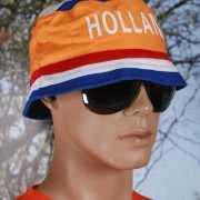 Zonnehoedjes oranje supporters