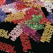 Happy Birthday decoratie confetti