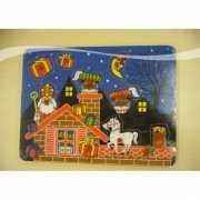Speelgoed puzzelplank Sinterklaas