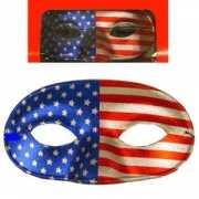 Oogmasker met Amerika kleur