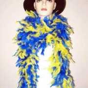 Boa blauw geel