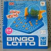 Lotto bingo set