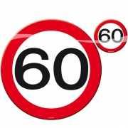 60 jaar placemats/onderzetters