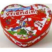Kado koek trommel voor je vriendin