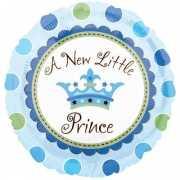 Folie ballonnen jongen geboren Little Prince 45 cm