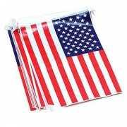 Rechthoekige vlaggenlijn USA 7 m