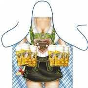 Funny BBQ schorten Oktoberfest Frau