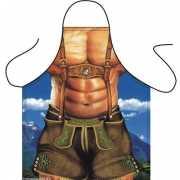 Funny BBQ schorten Alpen Macho