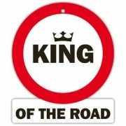 Decoratie bord met zuignappen King