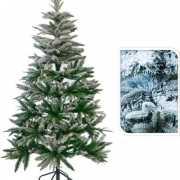Kunst kerstbomen met sneeuw 150 cm