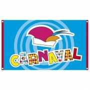 Carnaval versiering vlag 90 x 150 cm