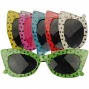 Disco bril met stippen