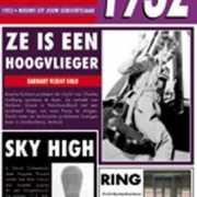 Verjaardag kaart met nieuws uit 1932