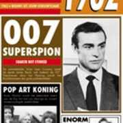 Verjaardag kaart met nieuws uit 1962