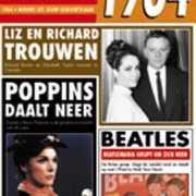 Verjaardag kaart met nieuws uit 1964
