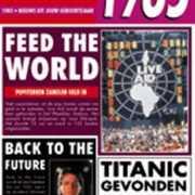 Verjaardag kaart met nieuws uit 1985