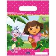 Uitdeelzakjes Dora 16 5 x 23 cm