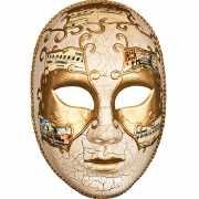 Venetiaans carnaval masker met goud