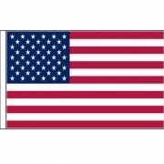 Polyester mega vlag Amerika 150 x 240 cm