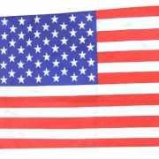 Amerika vlaggen  60 x 40 cm