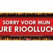 Rioollucht Sticky Devil sticker