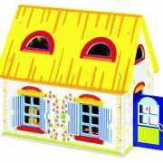 Speel poppenhuis met meubels