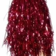 Cheerleader pompoms rood