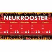 Neukrooster, per week Sticky Devil sticker