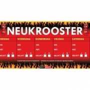 Neukrooster  per week Sticky Devil sticker