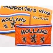 Nederland fan vlag oranje 100 x 70 cm