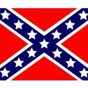 Vlag van USA rebel plakstickers
