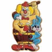 Clown carnaval versiering 50 cm