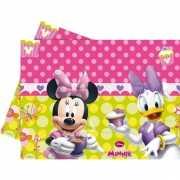 Plastic tafelkleed Minnie Mouse opdruk 120 x 180 cm