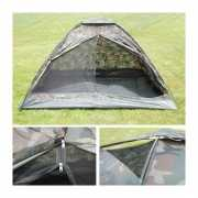 Legergroene camouflage tent
