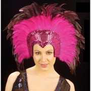 Roze hoofdtooi voor volwassenen