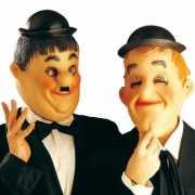 Laurel en Hardy gezichtsmaskers