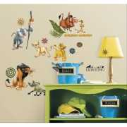 Wanddecoratie stickers Lion King