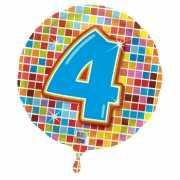 4 jaar folieballon