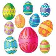 Paas decoratie eieren voor aan de muur
