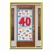 40e verjaardag decoratie poster