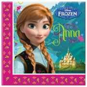 Servetten Frozen gemaakt van papier 20 stuks